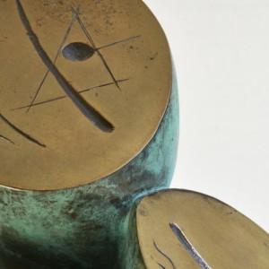 2. Costellazione - 1986 -bronzo- h. cm 50