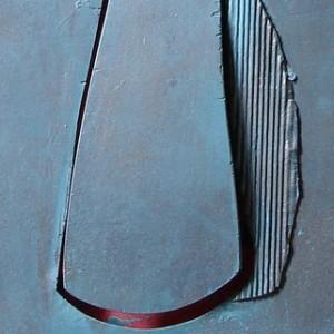 23. Transiti - 2009 - legno -  cm 75 x 91