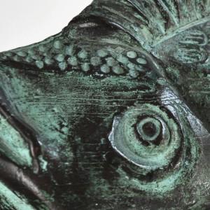 3. Pesce occhio - 1992 - bronzo - h. cm 19